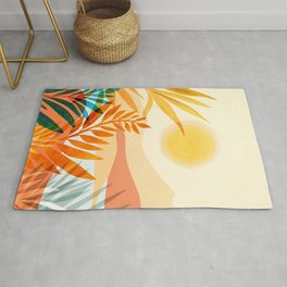 Golden Hour / Abstract Landscape Series Rug