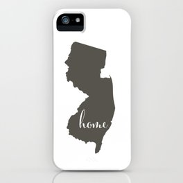 New Jersey is Home iPhone Case