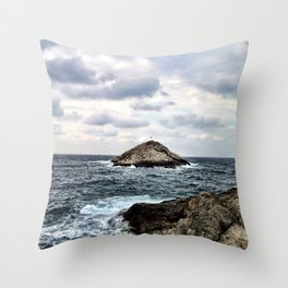 Small Island Throw Pillow
