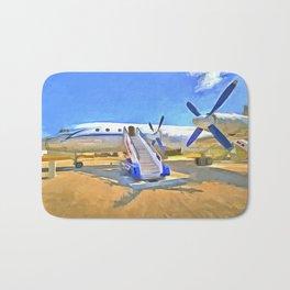 Pop Art Airliner Bath Mat