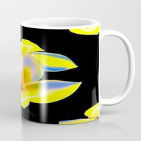 bow Mugs featuring Flower Bow by Christa Bethune Smith