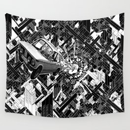 New Car Wall Tapestry