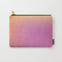 Blurred background with pink and yellow colors Carry-All Pouch