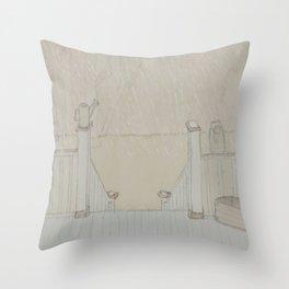 Front Porch Throw Pillow