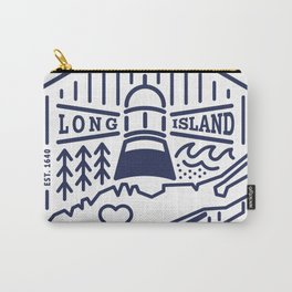 Long Island Crest Carry-All Pouch