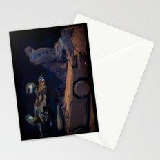 Aliens Landscape Stationery Cards