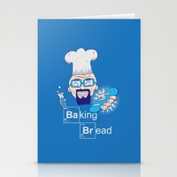 baking Stationery Cards featuring Baking Bread by DarkChoocoolat