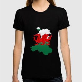 Wales and the Dragon T-shirt