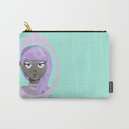 Pastel Vampire Woman Carry-All Pouch