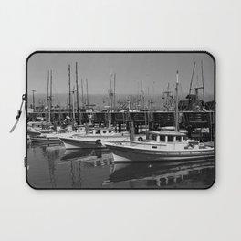 Boats At Fishermans Wharf San Francisco Laptop Sleeve