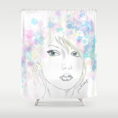 Beauty in Chaos Shower Curtain