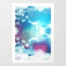 Message to Universe Art Print