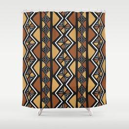 African mud cloth Mali Shower Curtain