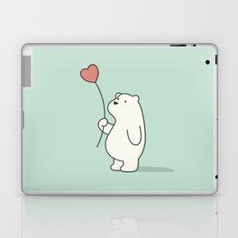 Kawaii Cute Polar Bear Laptop & iPad Skin
