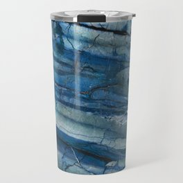 Ocean Depths Blue Marble Travel Mug
