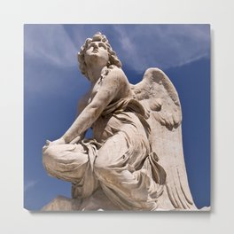WHITE ANGEL of SICLY Metal Print