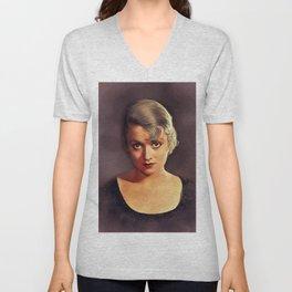 Constance Bennett, Vintage Actress Unisex V-Neck