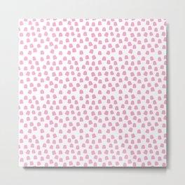 Dots Pink Metal Print