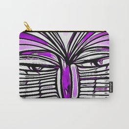 Flashers of Purple Carry-All Pouch