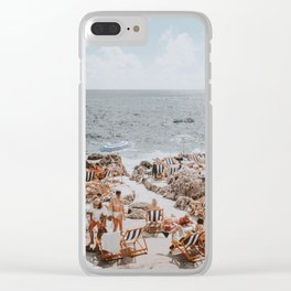 capri, italy Clear iPhone Case