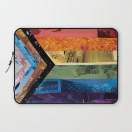 Progress Pride Flag Collage Laptop Sleeve