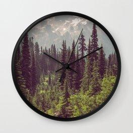 Faraway - Wilderness Nature Photography Wall Clock