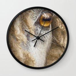 Leicester Longwool Sheep 2 Wall Clock