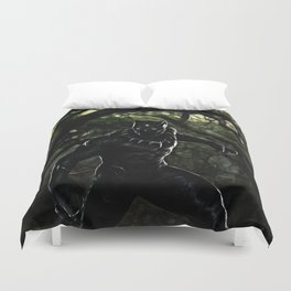 Big Cat On The Prowl Duvet Cover