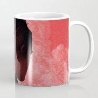camus Mugs featuring Byronic II by Boris Pelcer