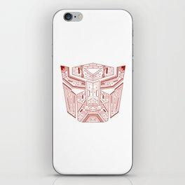 Autobot Tech Red iPhone Skin