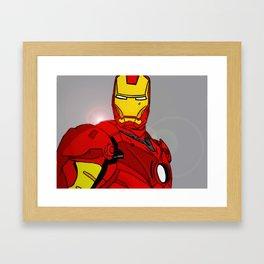 Ironman Print Framed Art Print