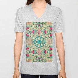 Colorful Mandala #04 Unisex V-Neck