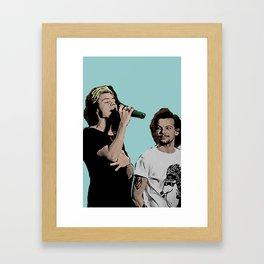 Pop Art Larry Stylinson  Framed Art Print