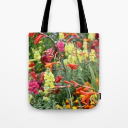 Flowers in the Kitchen Garden Tote Bag