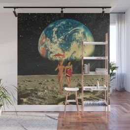Moonlight Girl Party Wall Mural