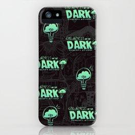 Glow in the Dark Concept Studio Merch! iPhone Case