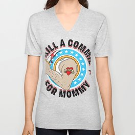 Kill A Commie For Mommy The Ramones Punk Rock CBGB Commando Hey Ho Lets Go USA Rock N Roll High Unisex V-Neck