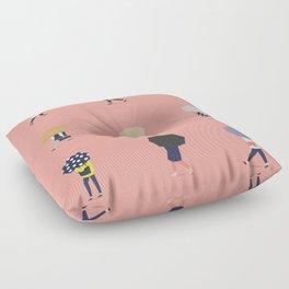 Rainy day Floor Pillow
