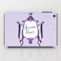 asexual iPad Cases featuring Asexual Pirate by armouredescort