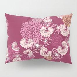 Floral Seamless Pattern Pillow Sham