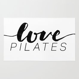 love pilates Rug