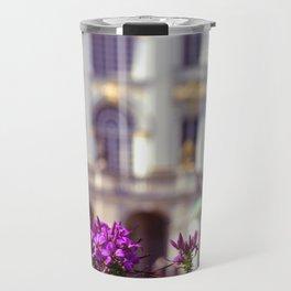 Flowers of castle Nympfenburg Travel Mug