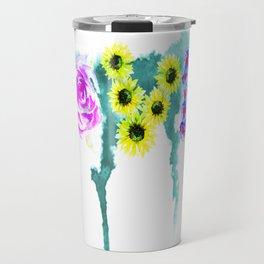 Floral Addiction Travel Mug