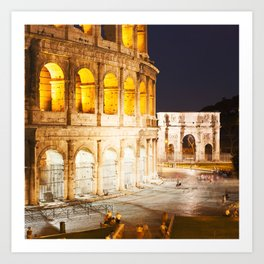 In Rome do as the Romans do Art Print