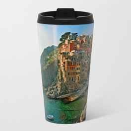 Italy. Cinque Terre - Canal side Travel Mug
