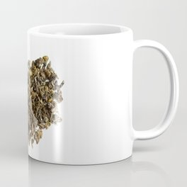 Dried and curled leaves of Oolong Coffee Mug