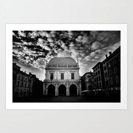 Piazza Dell Loggia Art Print