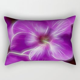 Abstract Phlox Rectangular Pillow