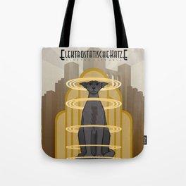 Elektrostatische Katze [Staticat] Tote Bag