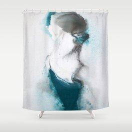 Euphoric flight Shower Curtain